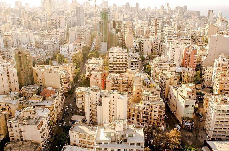 Good Morning Beirut 😍By @fadibad AboveBeirut Beirut Liban Libano ... (Beirut, Lebanon)
