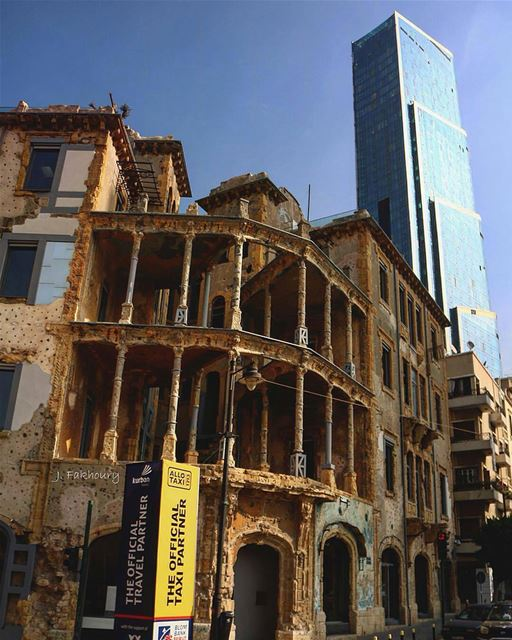 Beirut perfect merging of heritage and modernity.By @johnfakhoury Sodeco... (Sodeco Square)