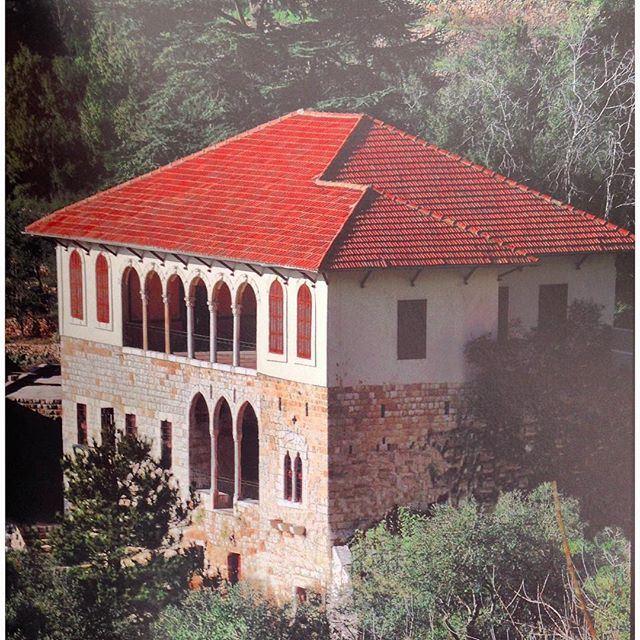 غوسطا كسروان - قصر بيطار ١٨٦٠،