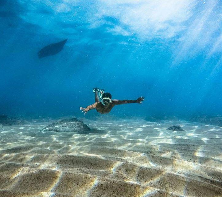 Floating underwater.By @dany_111 Batroun Beirut Liban Libano Lebanon... (Batroûn)