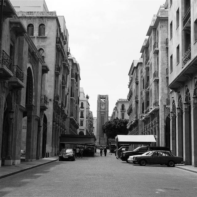 This Clocktower was a gift from the English at the last century. Beirut is... (Nejmeh Square)