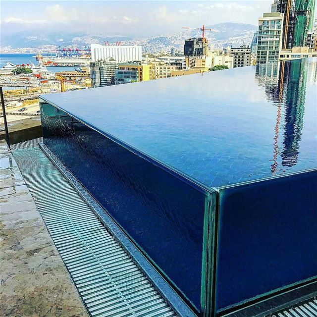 Rooftop pool in Beirut ✨By @loic LeGrayBeirut DowntownBeirut ... (Le Gray, Beirut)