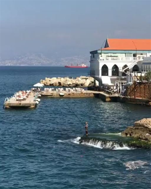 Good Morning Beirut ❤By @aleksey_kuznetsov_ AinElMrayseh Beirut Liban ... (Corniche Ain El Mraysseh)