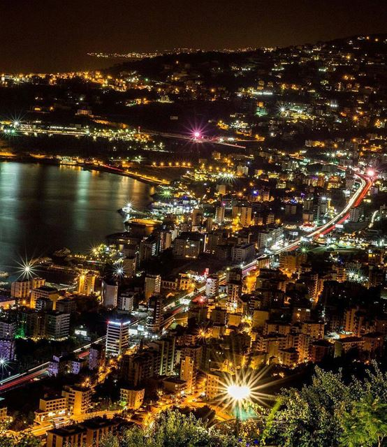 View from the top of Notre Dame du Liban.By @theserj  Beirut  Jounieh ... (Jounieh - Harissa)