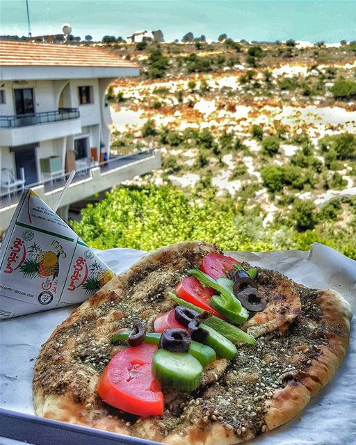 A typical lebanese Saturday starts with a typical lebanese breakfast 😋By... (Al Koura)