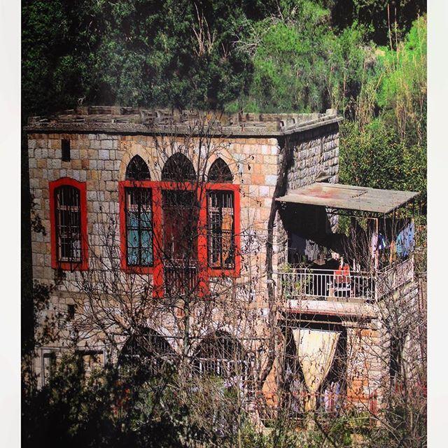 نهر الكلب كسروان - منزل توفيق يمين ١٩١٠ ،