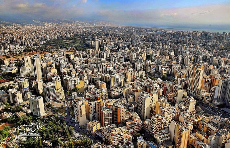 General view of the beautiful city of Beirut, Lebanon, Thursday, June 16,...