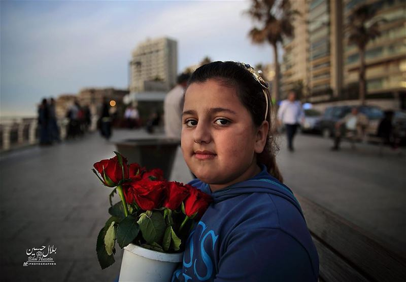 Syrian refugee Nermin Abrouch, 8, who fled with her family from Aleppo in...