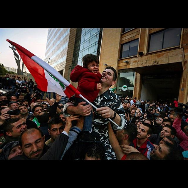 Lebanese policeman Abbas Msheik who was kidnapped by militants from the...