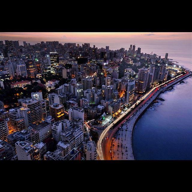 The city of Beirut, Lebanon, Tuseday, Nov. 17, 2015. Lebanon ...