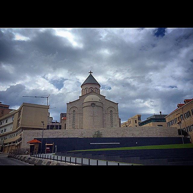 Cathedral ST. Nichan, Beirut, Lebanon. Lebanon insta_lebanon ...