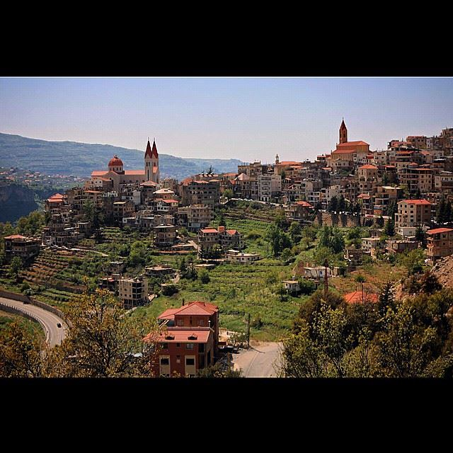 Mountain town of Bcharre, Lebanon, Sunday, April 26, 2015. Lebanon ...