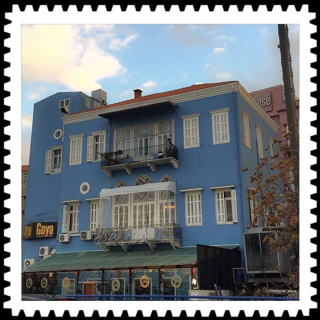 The blue house architecture traditionalhouse ig_beirut ig_mood ...