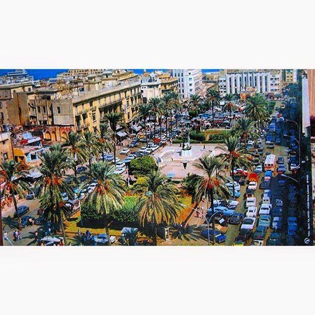 بيروت ساحة الشهداء ١٩٦٧،