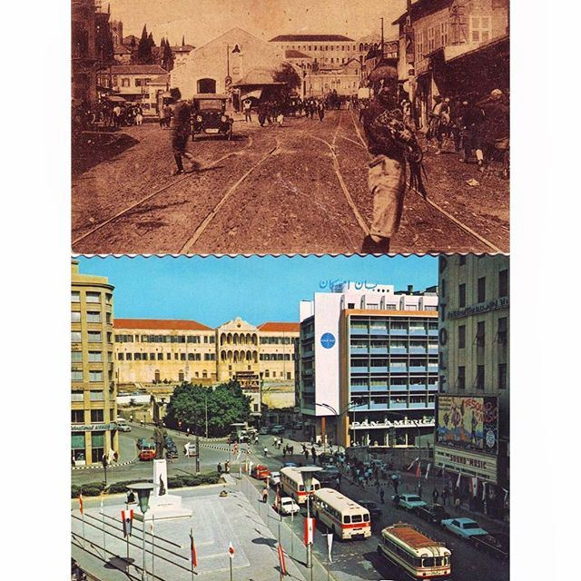 Beirut Riad Solh - 1930 - 1972 .