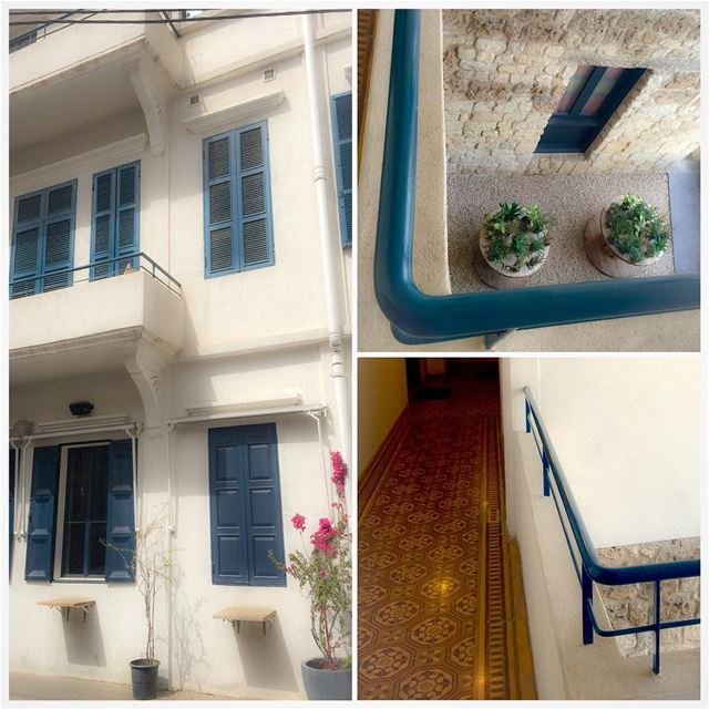 The charm of a renovated old building architecture archilovers design ... (Mar Mikhael, Beirut)