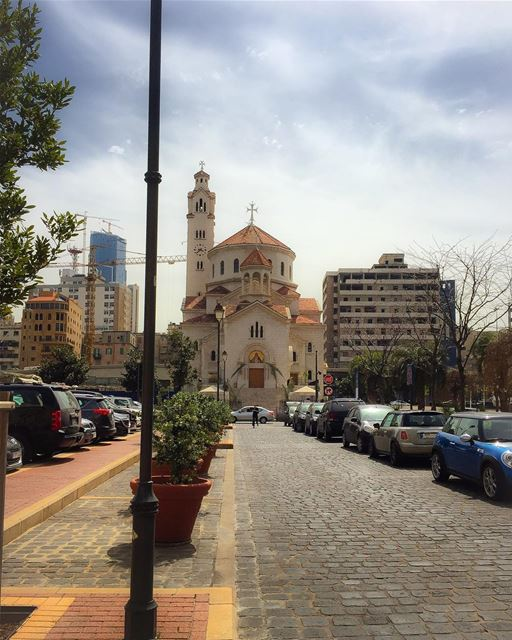 Beirut downtown. Armenian Catholic Church landscape landscape_lovers ... (Beirut Down Town)