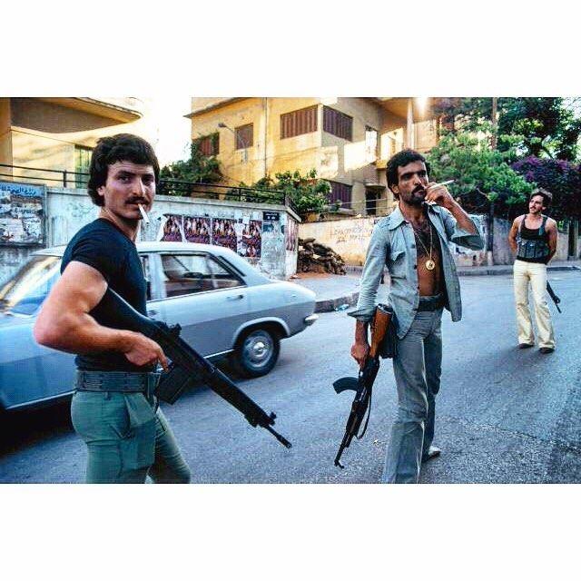 Beirut Civil War 1978 ,
