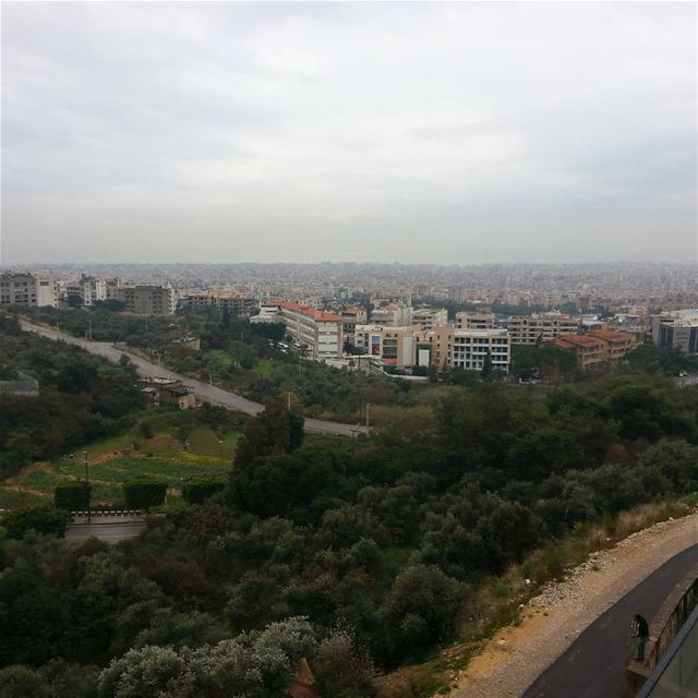 beirut overview from baabda Brasilia .city of concrete merging... (Baabda)