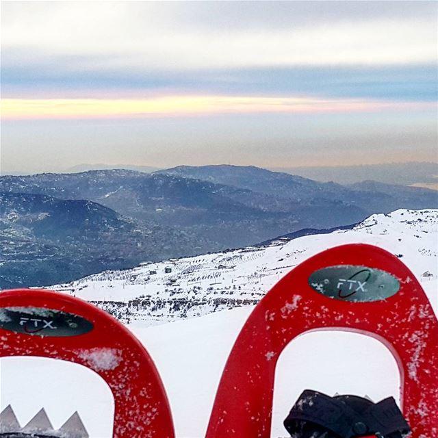 My italian snowshoes sportika fadidagher livelovelebanon lebanonspotlights... (Kanat Bakich)
