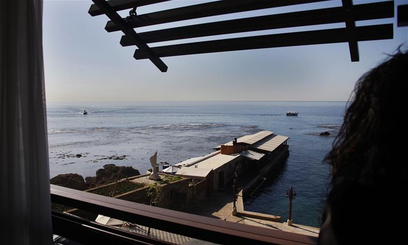 Can't get enough of this beautiful morning view morninginspiration ... (Byblos - Jbeil)