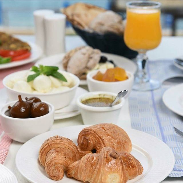Start your day the right way ☕☕Breakfast is served daily at ... (Tournesol Resto( Byblos sur Mer Hotel))