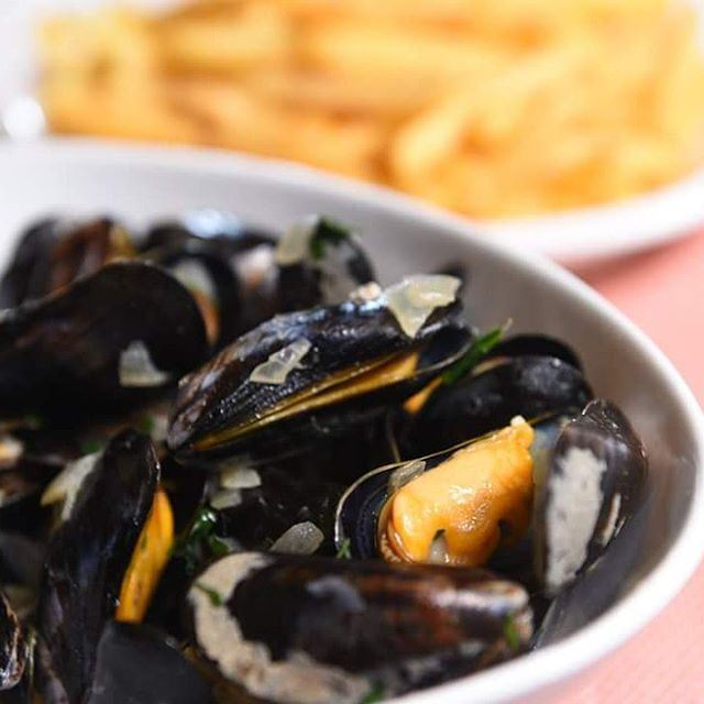 Moules et frites this Thursday and every Thursday at  tournesolcafe....
