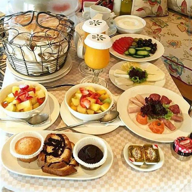 Indulge yourself in a heavenly breakfast!By @beirutfood breakfast...