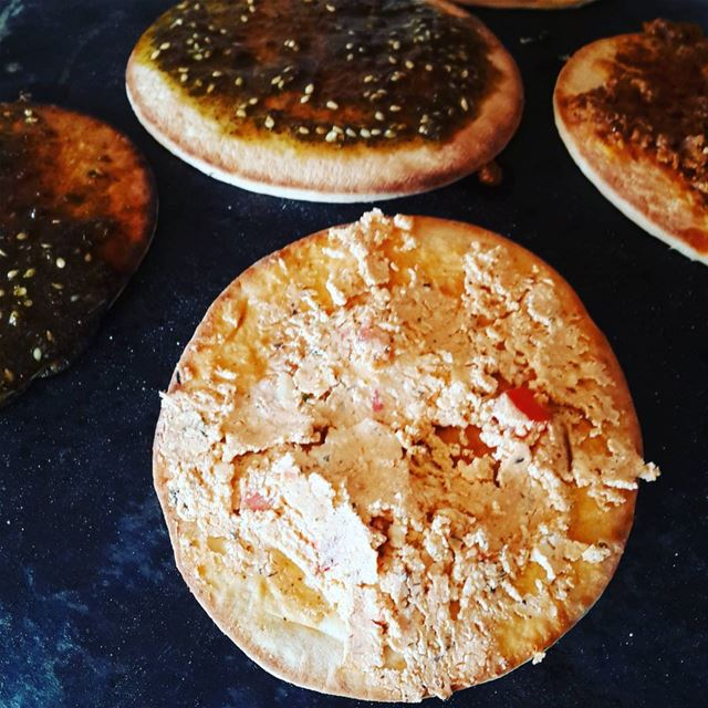 Don't miss out these small tasty mana2eesh available every Sunday during...