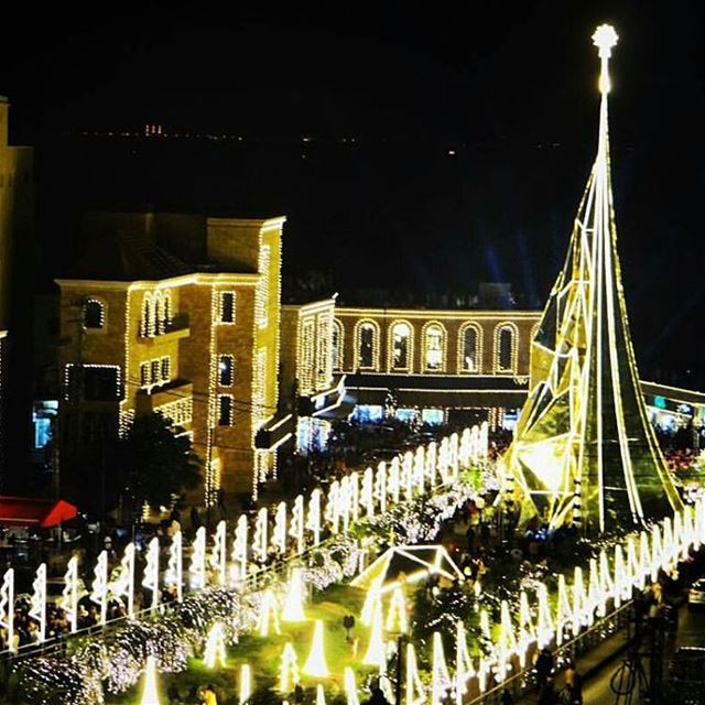May the magic of Christmas shower us with Love and Peace byblos jbeil...