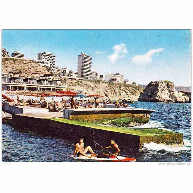 Beirut Sporting Club - Summer 1968 .