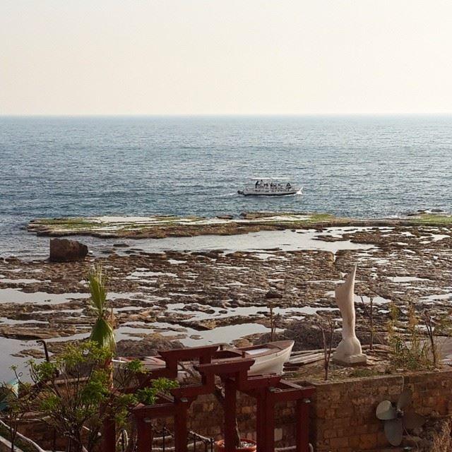 The view from my balcony 😍😍 byblos jbail lebanon beautifulday...