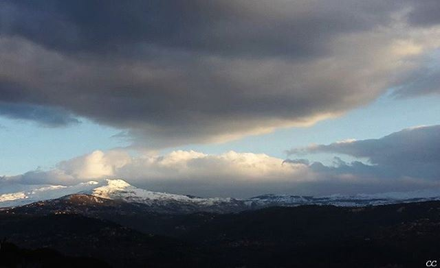 lebanon sky clouds mountain snow livelovelebanon lebanonspotlights ...
