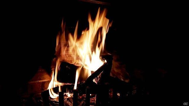 winter season chimney warm fire lebanon livelovelebanon ...