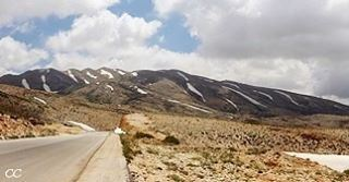 lebanon mountains hadeth baalbek road sky clouds ...