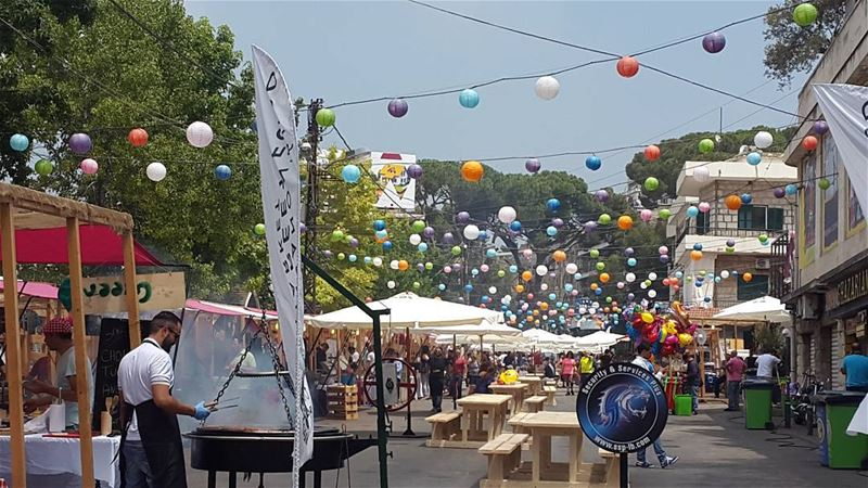 broumana food street festival soukelakel last day yummy ...
