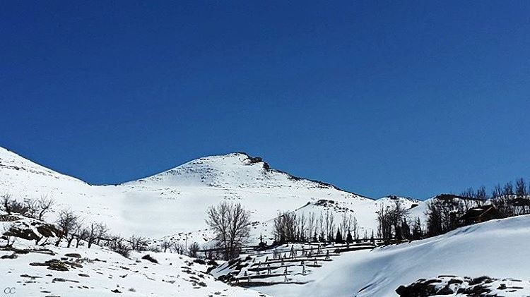 lebanon mountains snow laklouk pic camera capture landscape ...
