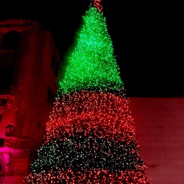 Christmas tree beirut souk colors joy livelovelebanon Lebanon ...