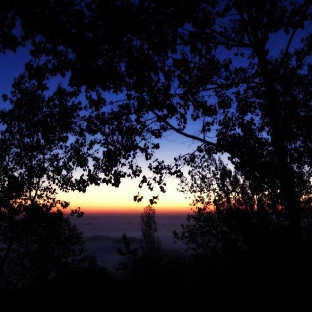 sunset falougha lebanon ...