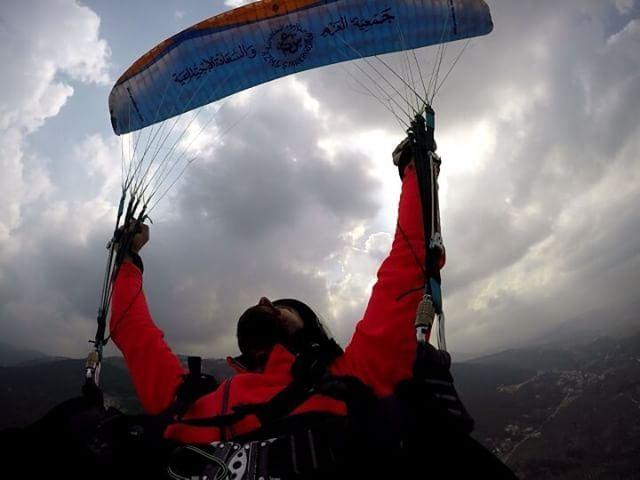 training mactwist_misty beirutparagliding omar paraglidinglebanon ...