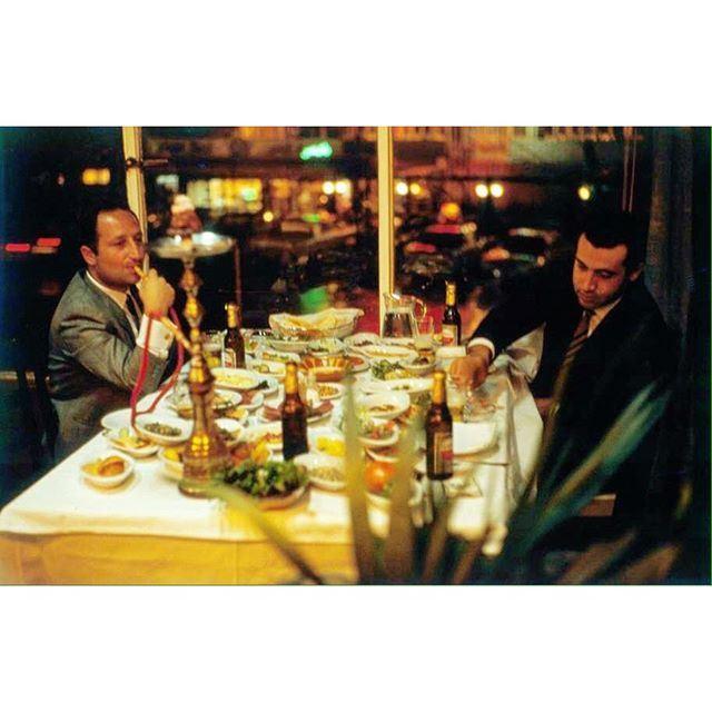 """Beirut Raouche """"Yeldizar Restaurant"""" Beirut1966 ."""