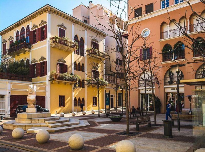 LEBANON 🇱🇧📷 - Saifi Village••••• Lebanon SeriesOfTee downtown ... (Beirut, Lebanon)