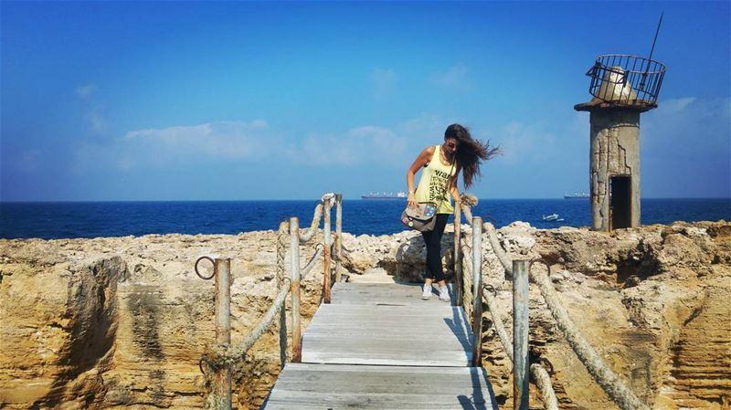 beach deck sea batroun lebanon livelovelebanon ...