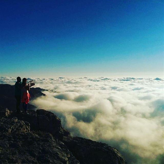 Over the ☁ livelovebeirut livelovelebanon extraordinaryexplorer @royalca (Laqlouq)