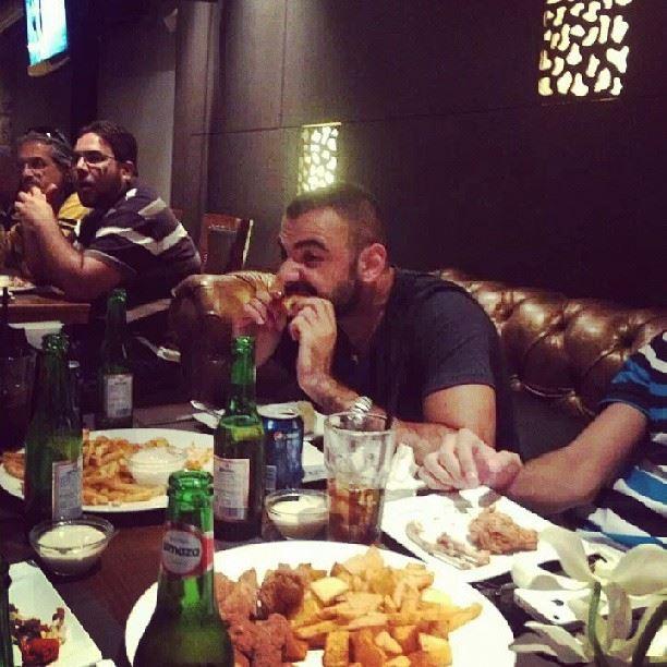 Open chicken wings and beer byblos Lebanon insta_faje3ne ...