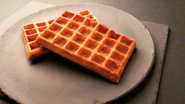 What we love about waffles is that they're almost like a blank canvas with...