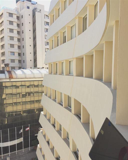 Curves and Sand. Building of Beirut. livelovelebanon lebanon beirut ... (USJ - Campus Des Lettres Et Des Sciences Humaines)