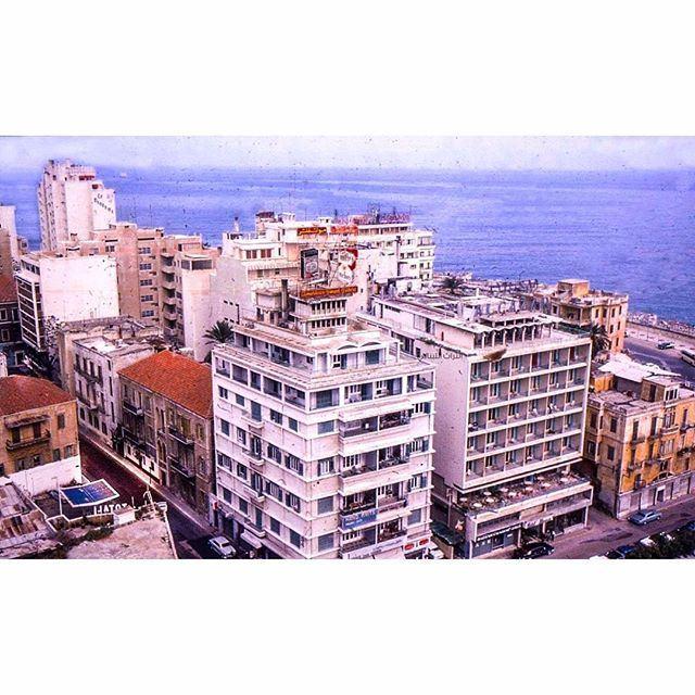 "Beirut ""Minet Al Hosn"" Photo taken From Phoenicia Hotel ."