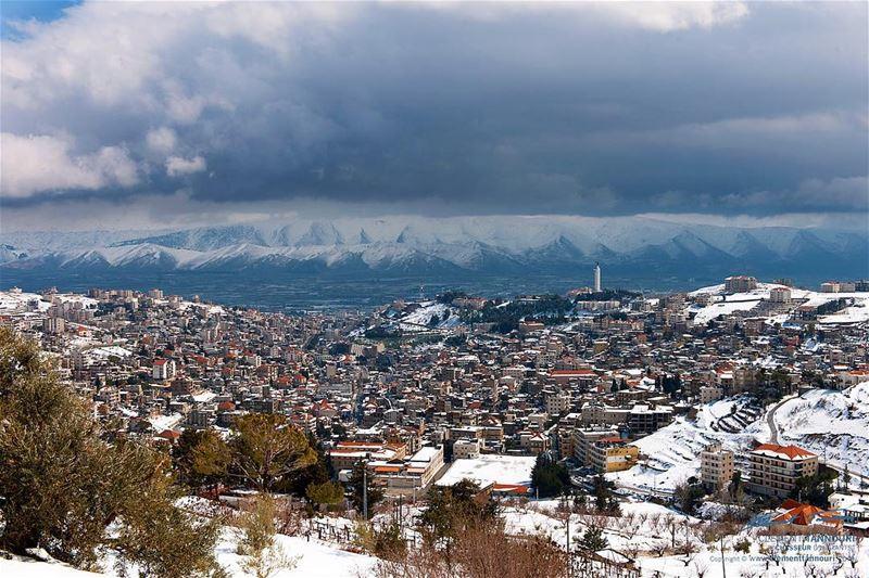 My Planet My Zahle 🌨🌨🌨 livelovelebanon livelovebeirut lebanon beirut... (Zahlé, Lebanon)