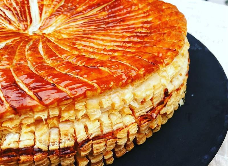 """La Galette des Rois"" A delight not to be missed 😋😋😋 place your order..."